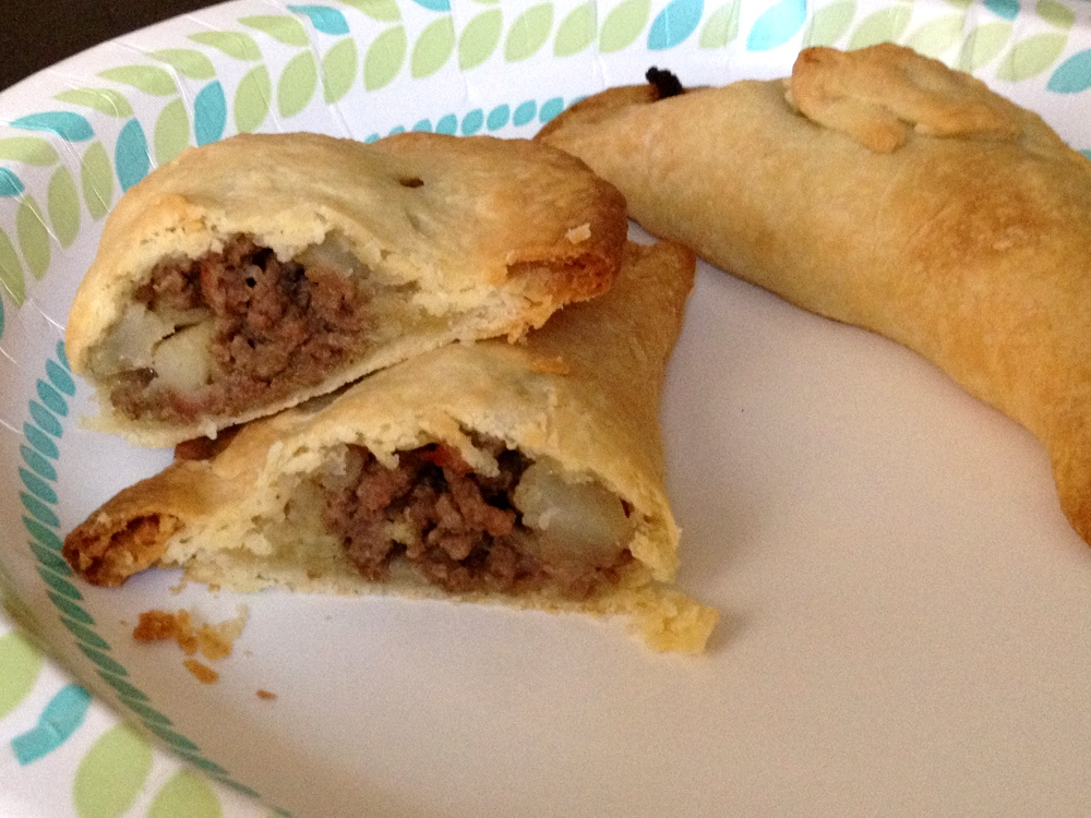 Adventures With My Oven: Beef & Potato Empanadas