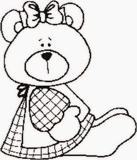 imagens para colorir urso - Ursinho Pooh para colorir Desenhos para Colorir