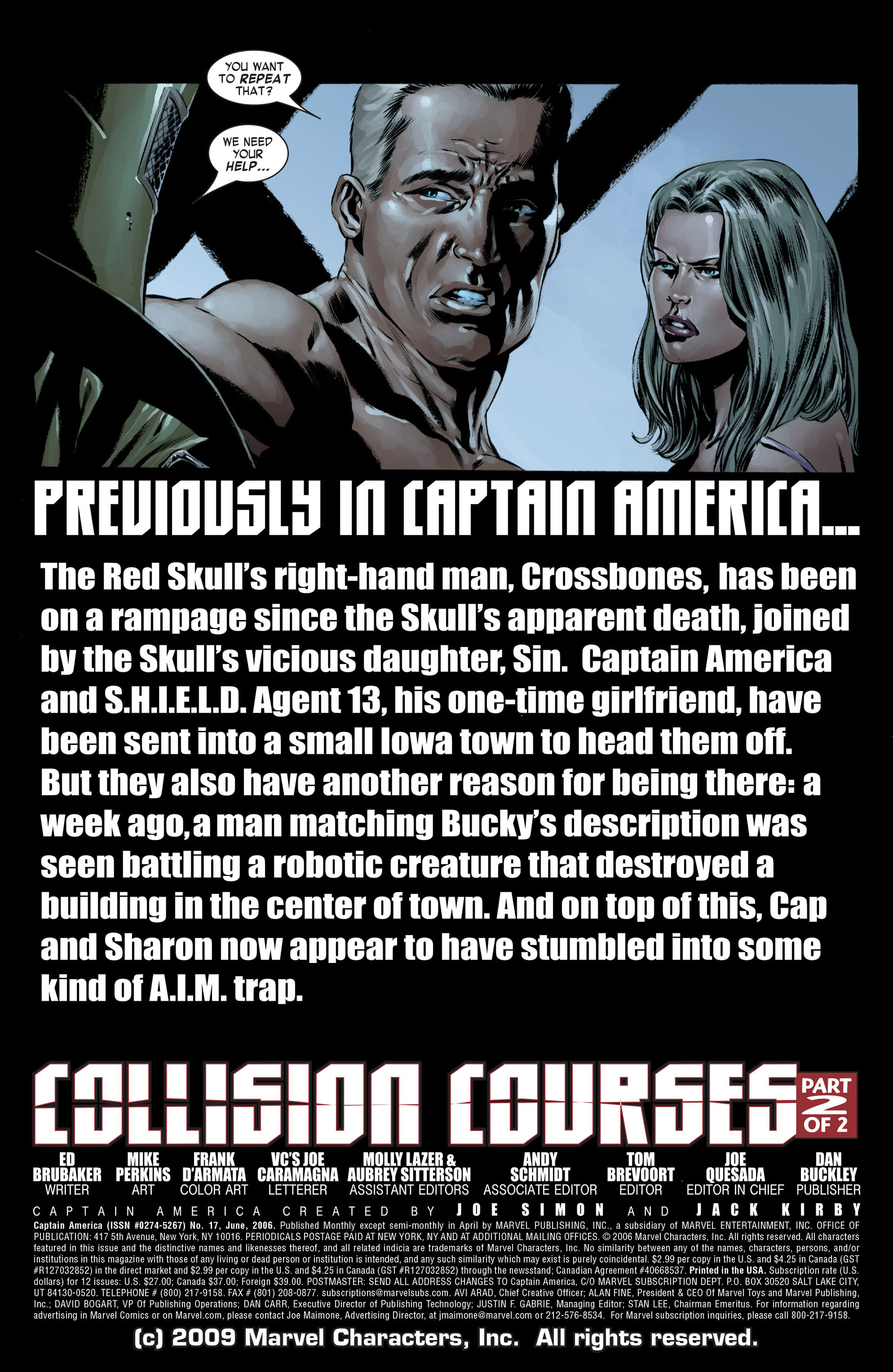 Captain America (2005) Issue #17 #17 - English 2