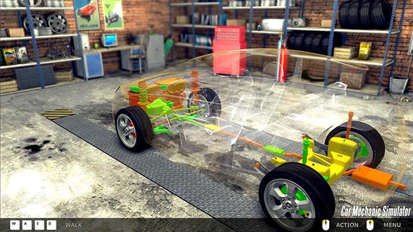 Ohgamegratis - Car Mechanic Simulator 2014 - Full Version Screenshot 3