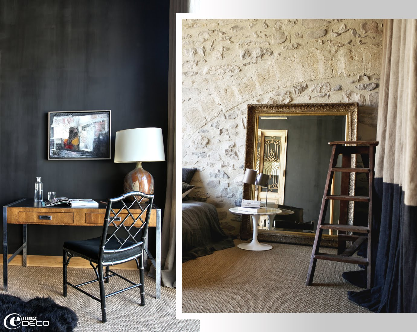 un ancien moulin huile en vaunage e magdeco magazine de d coration. Black Bedroom Furniture Sets. Home Design Ideas