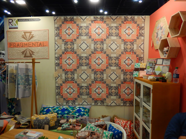 Fragmental by Angela Walters for Robert Kaufman at Quilt Market @ Quilting Mod
