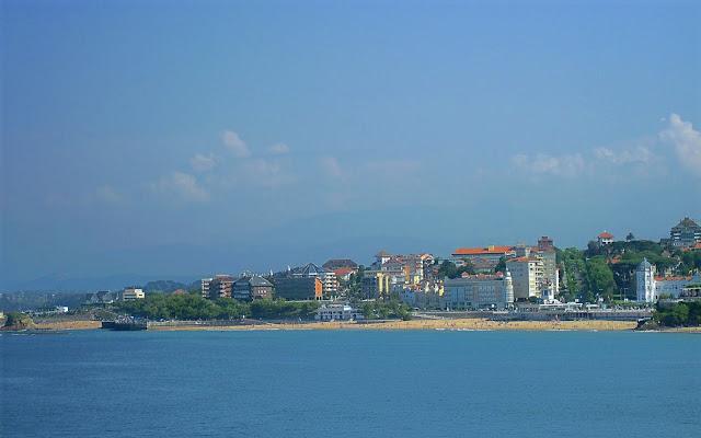Primera Playa del Sardinero en Santander