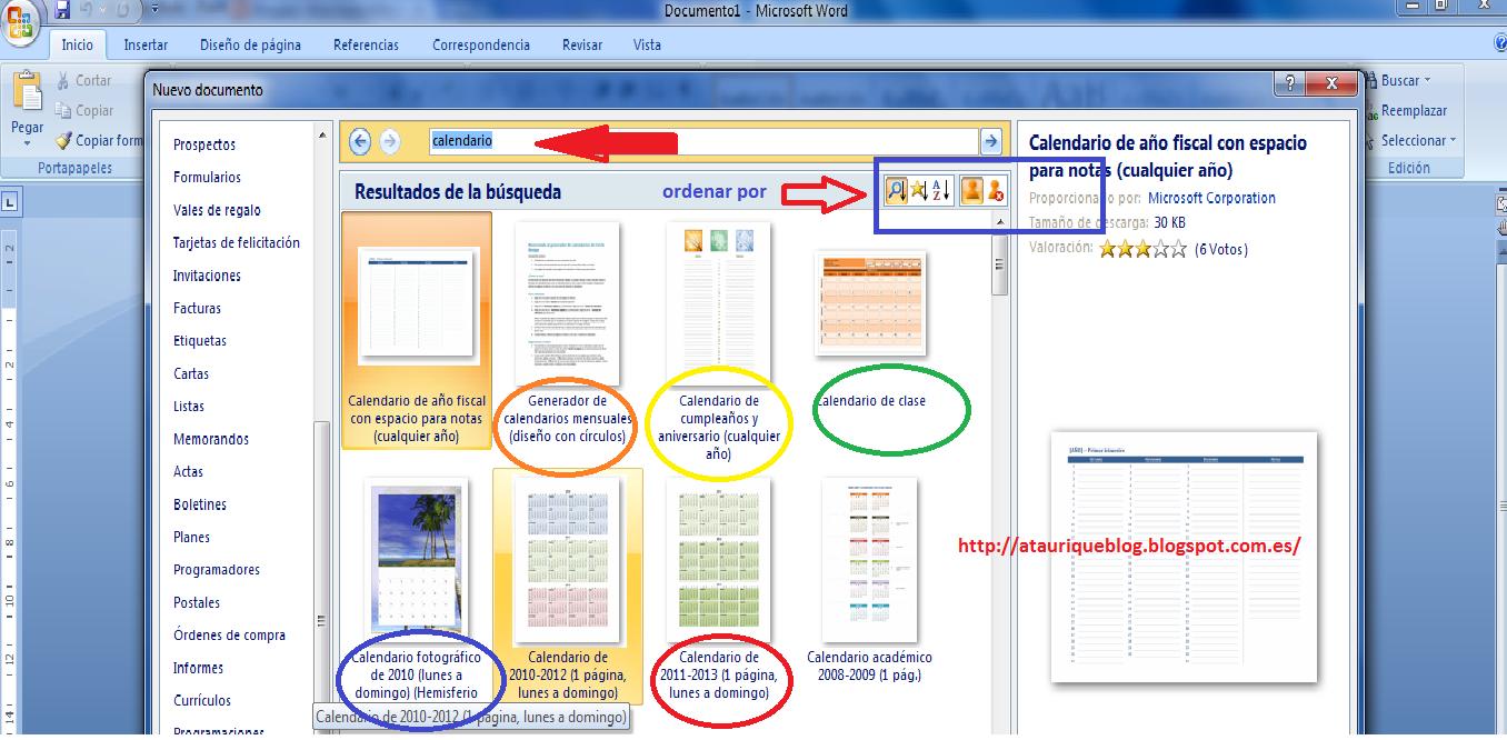 Buscar las Plantillas de documentos en Microsoft Word y LibreOffice ...