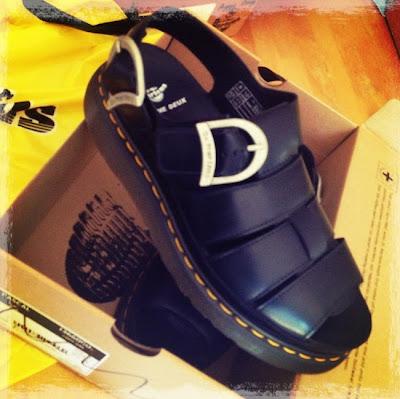 Dr Martens X Comme des Garçons Sandals