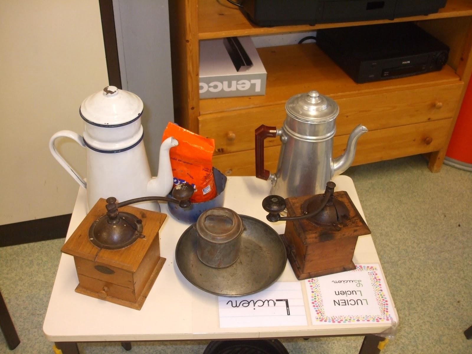 Les petites nouvelles de la classe maternelle des objets anciens dans no - Photos objets anciens ...