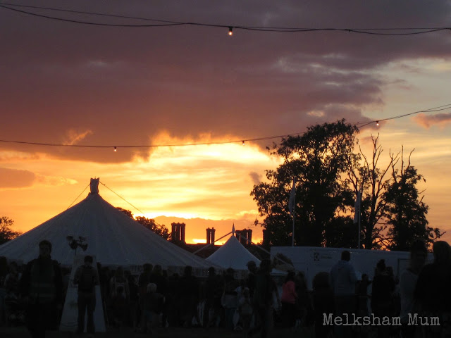 The Big Feastival sunset