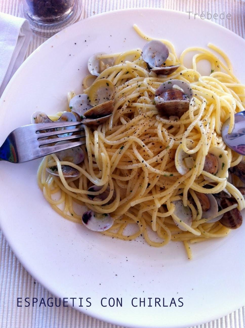 Tr bede espaguetis con chirlas - Espaguetis con chirlas ...