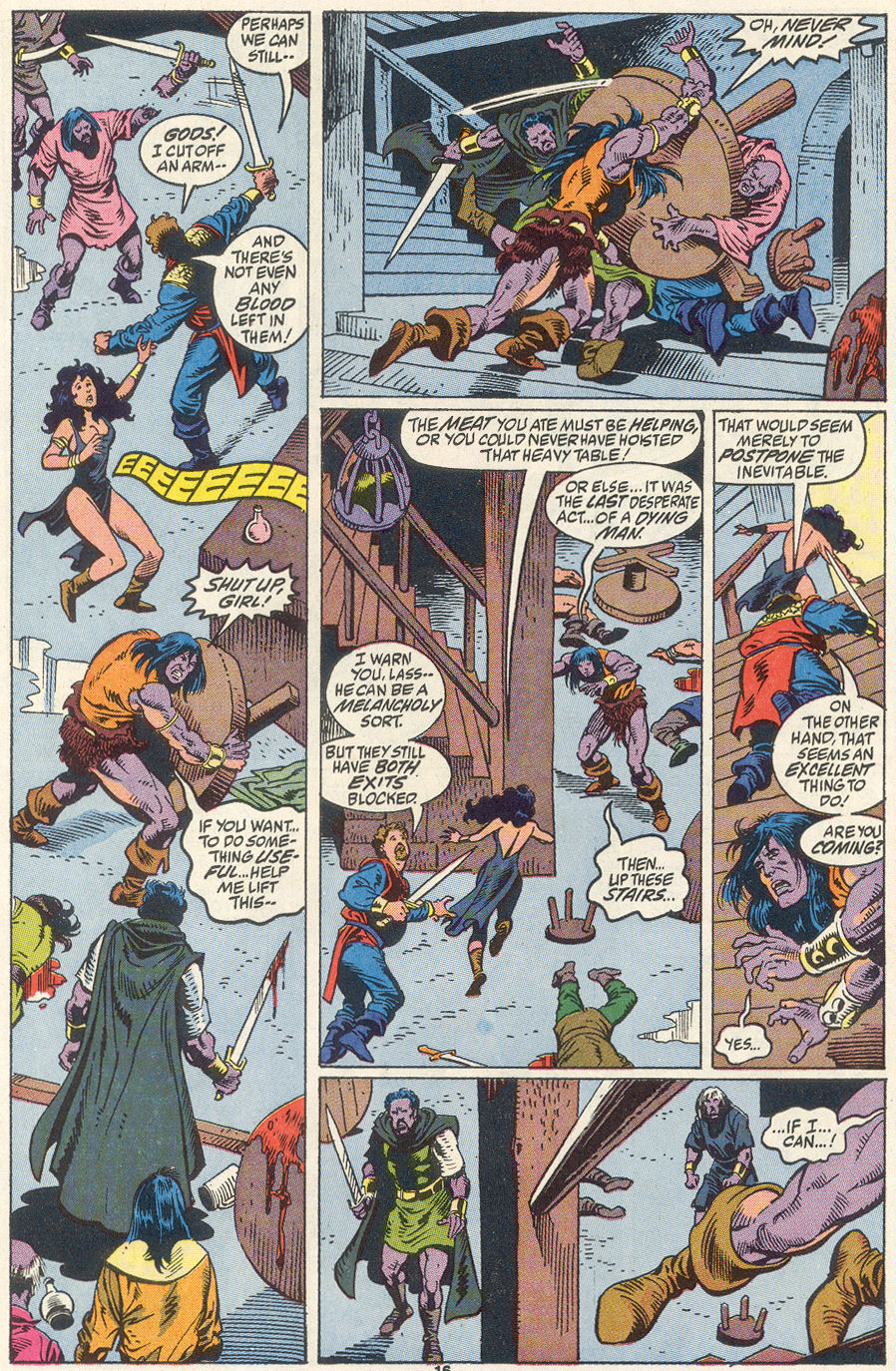 Conan the Barbarian (1970) Issue #256 #268 - English 13