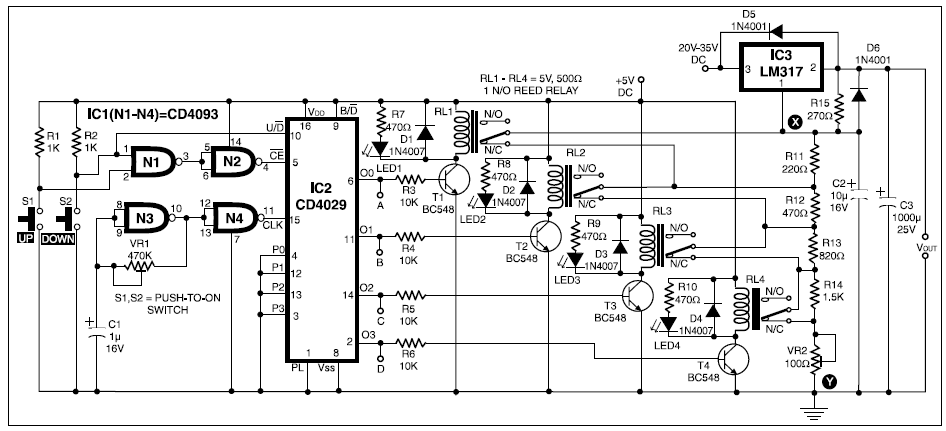 15 STEP DIGITAL POWER SUPPLY BASIC ELECTRONICS PROJECT | BASIC ...