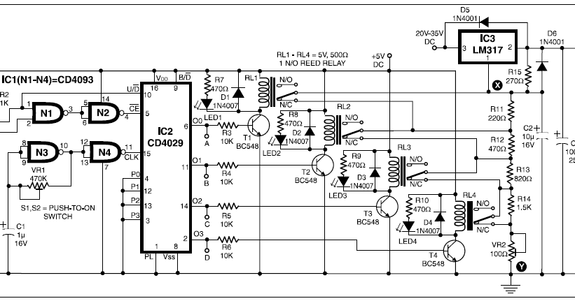 15 step digital power supply basic electronics project