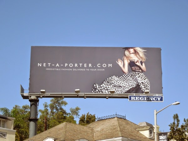 Net-a-porter Summer 2014 billboard