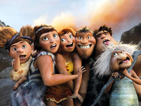 os croods cinema filme animação desenho em cartaz trailer