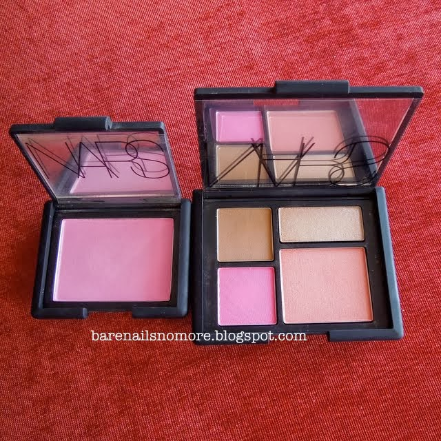 NARS Adult Content Blush Palette vs Gaiety