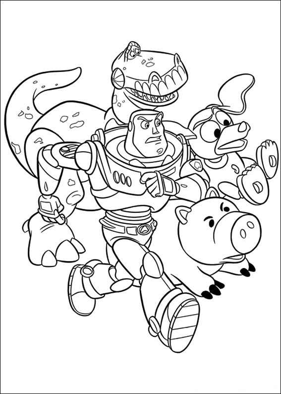 toy story 2 coloring pages free - toy story coloring pages free printable coloring pages