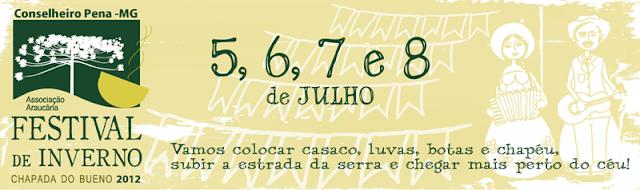 Festival de Inverno da Chapada do Bueno