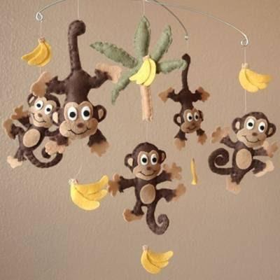 обезьяна из фетра своими руками