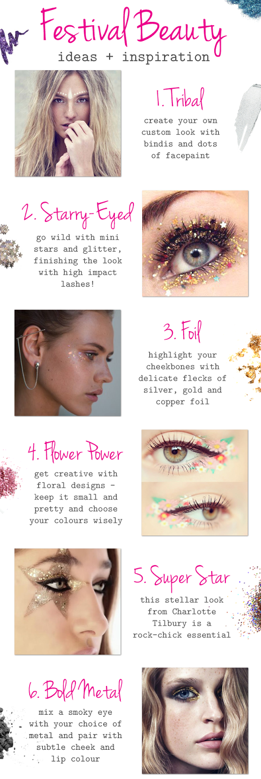 Festival Beauty: Ideas + Inspiration