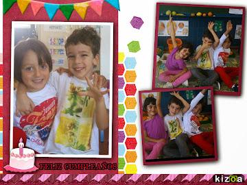 En este mes de Noviembre cumplimos 5 añitos. ¡¡Muchísimas Felicidades!!.
