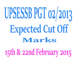 PGT 2017 Expected Cut Off Marks