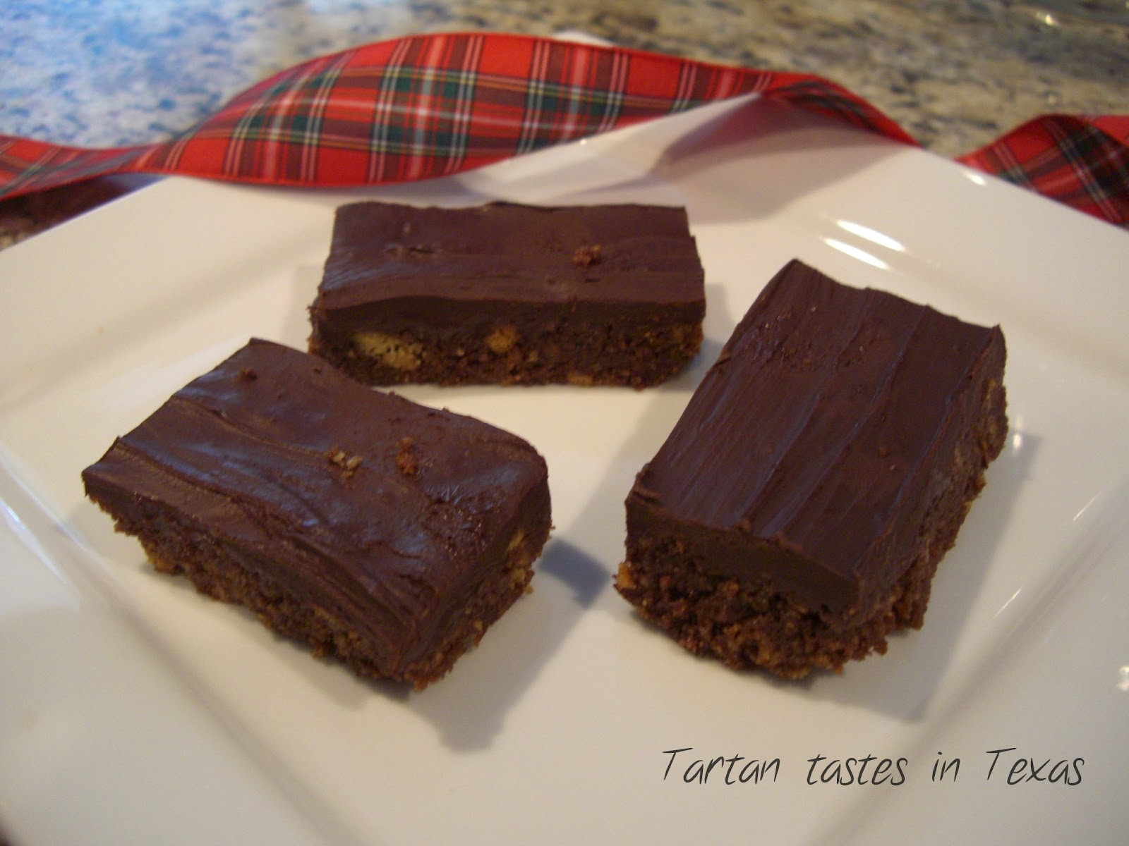 Tartan Tastes in Texas: Scottish Recipes - Chocolate Tiffin