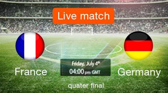 Hasil pertandingan Prancis vs Jerman