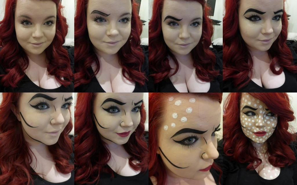 Halloween Makeup: Comic Book - She Might Be Loved
