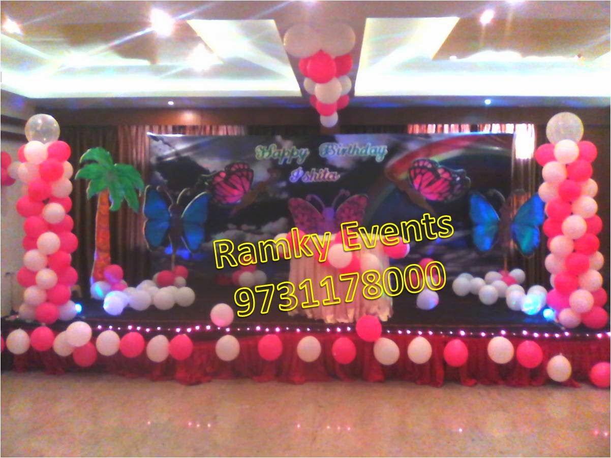 Balloon theme decoration for birthday parties for Balloon decoration in bangalore