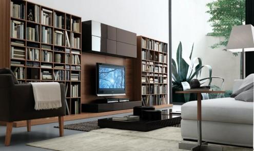 Modernos y lujosos muebles para tv para el living room o - Muebles para salas de estar ...