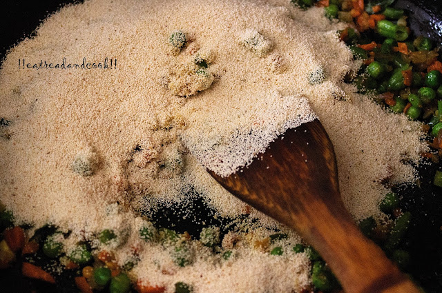 simple and easy suji upma recipe