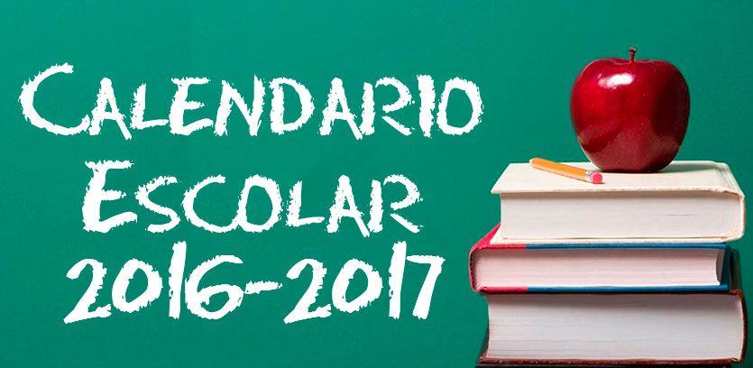 Calendario escolar curso 2016 2017 - Aragon