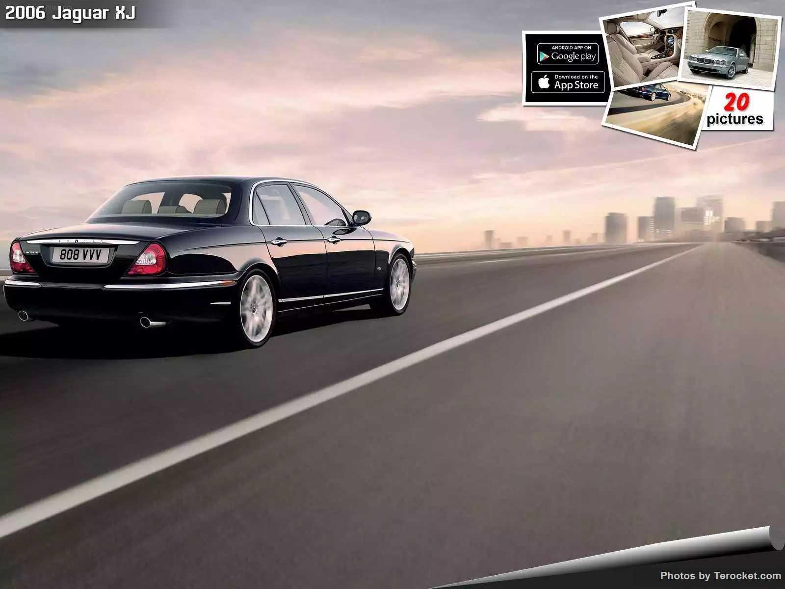 Hình ảnh xe ô tô Jaguar XJ 2006 & nội ngoại thất