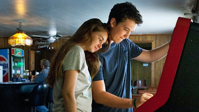 Shailene Woodley and Miles Teller in The Spectacular Now