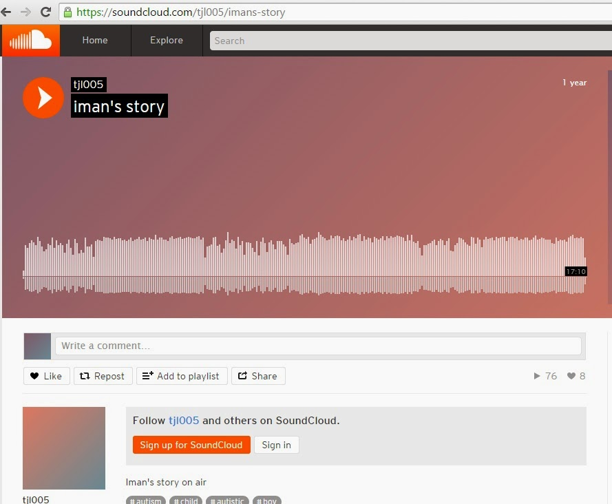 Iman's story