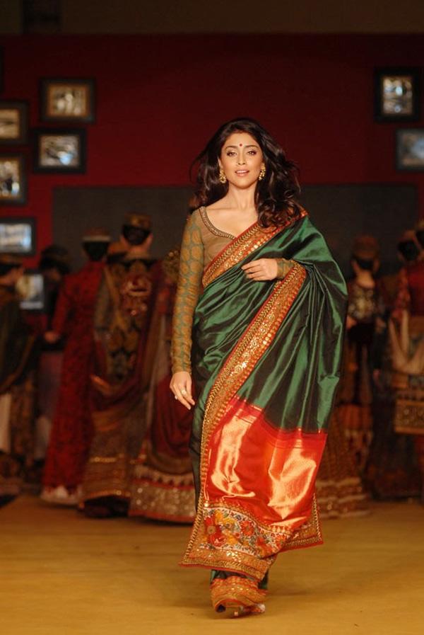 Bollywood Latest Fashion Shriya Saran In Saree At Channai