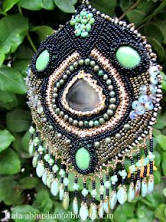 tassels,fringe , beaded pendant