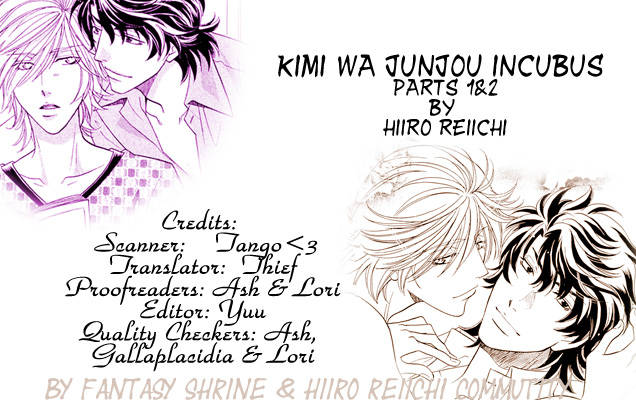 Kimi wa Junjou Incubus Ch.1 page 1 at www.Mangago.me