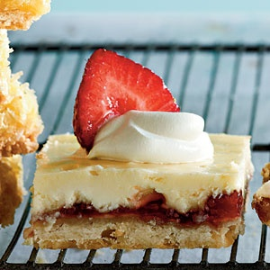 Strawberry-Lemon Shortbread Bars | Cook'n is Fun - Food Recipes ...