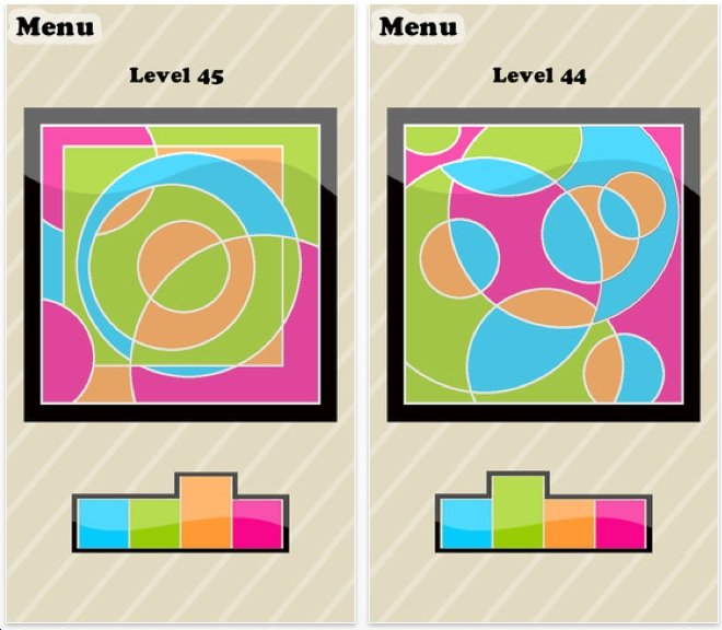 The Best iphone, ipad Puzzle Apps and Mechanical Puzzles: Color Fill ...