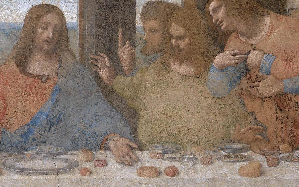 Artistic Explorations: From Caves to Cathedrals, A First ... Da Vinci Last Supper High Resolution