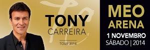 Tony Carreira no Meo Arena 2014