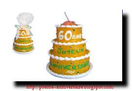 Modèle texte d'invitation anniversaire 60 ans