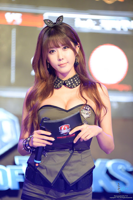 Heo Yoon Mi at World of Tanks Korean League