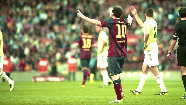 Messi's record Breaking Goal