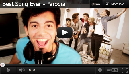 La Parodia Dennis Bernardi su Best Song Ever