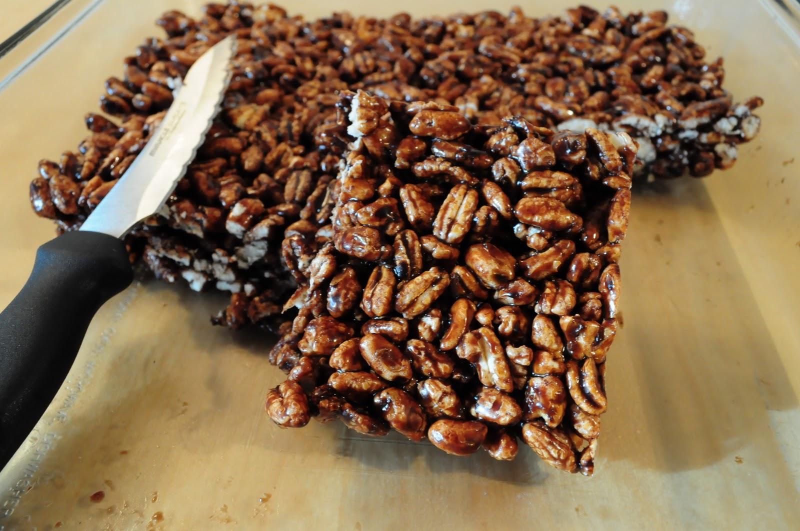 Puffed Wheat Cake Recipe