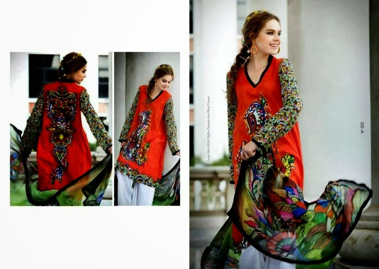 Lawn Digital Printed Dresses