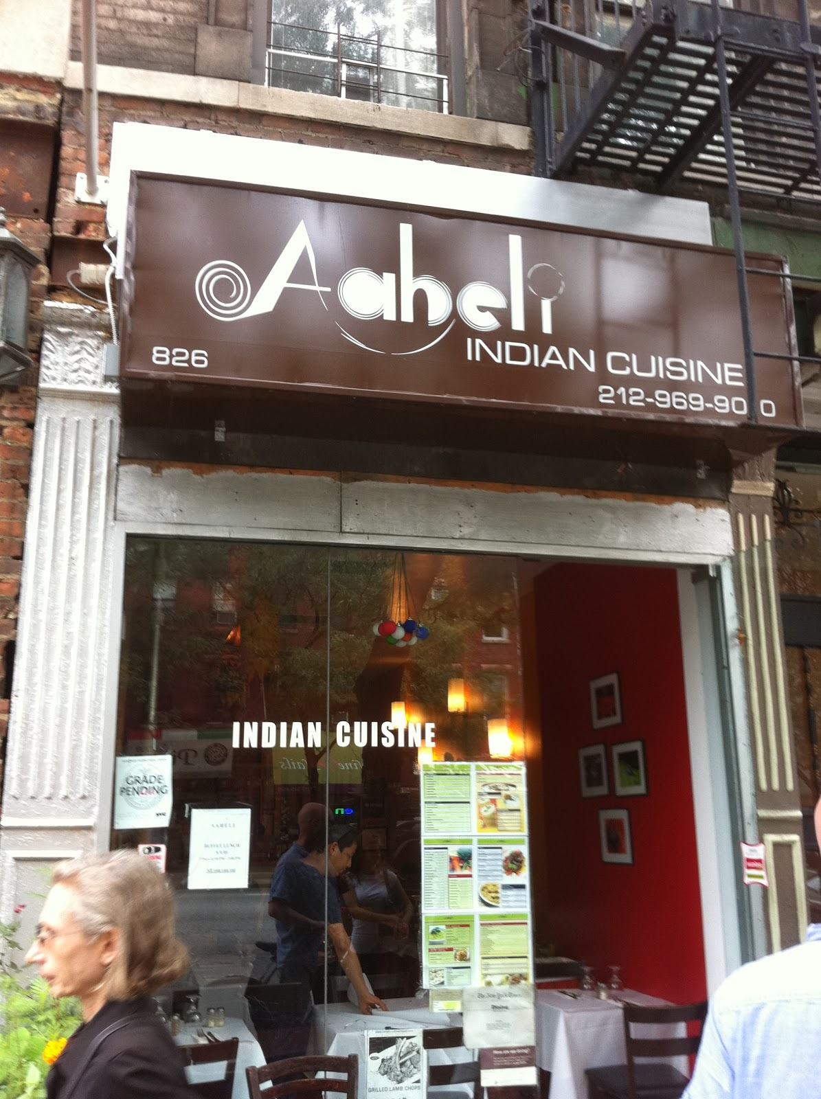 Ravi akula 39 s chronicles pleasant experience in a for Aaheli indian cuisine nyc