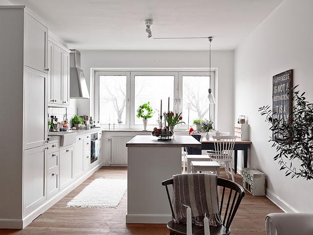 De andar por casas so ando con mi cocina ideal - Casas escandinavas ...