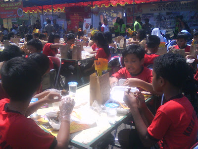 Gerakan Memasyarakatkan makan ikan di Kota Magelang yang di pelopori oleh dinas Pertanian dan Perikanan kota Magelang